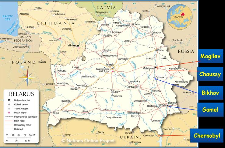 Belarus map 2