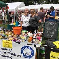 Tombola at the Cliffe Summer Fete