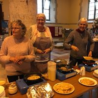 Pancake Party at St Helen's Church