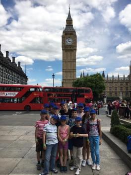 2016 visit to London