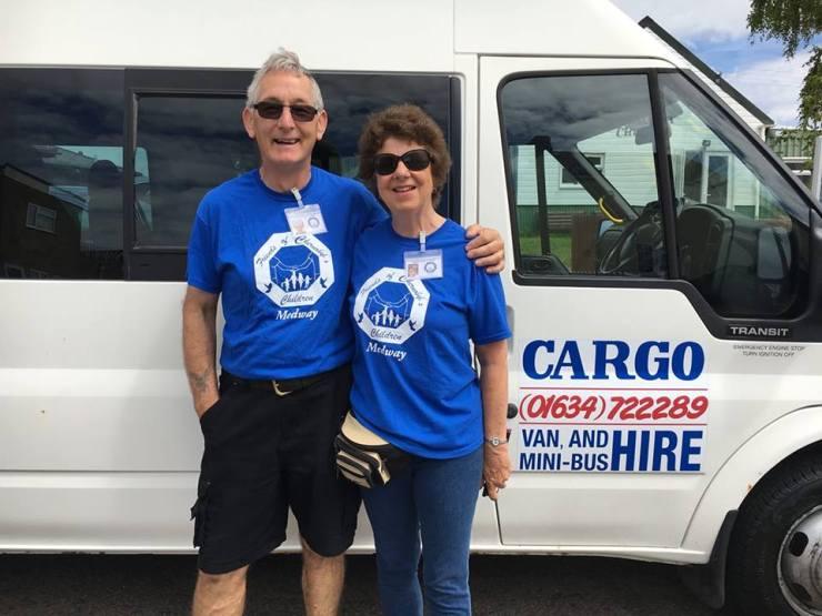 Linda and Tony, FOCC Medway coordinators