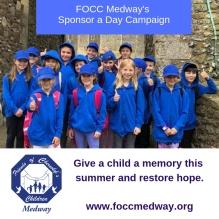 FOCC Medway Sponsor a Day